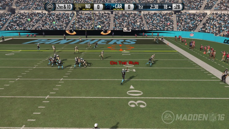Madden 16 in-game