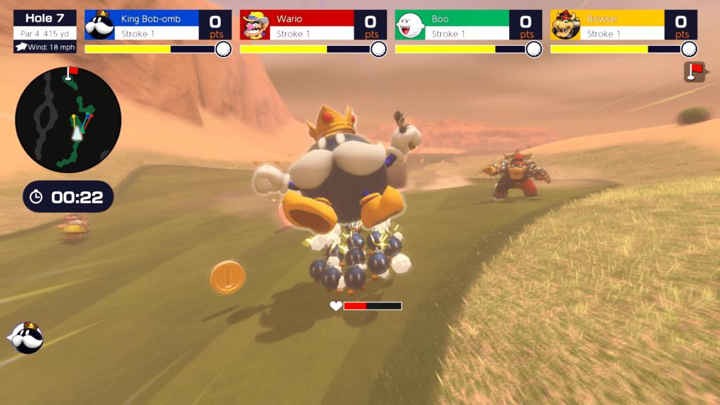 Mario Golf: Super Rush trailer