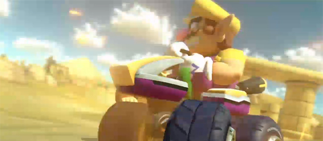 Mario Kart 8 announced at Nintendo E3 Direct