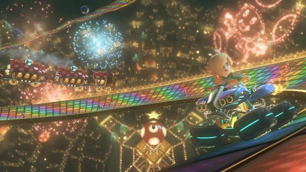 Mario Kart 8 Rainbow Road