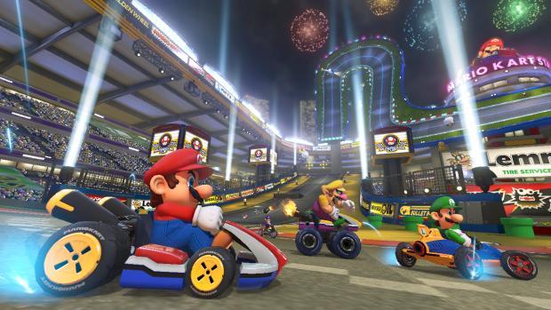 Mario Kart 8 Start Line