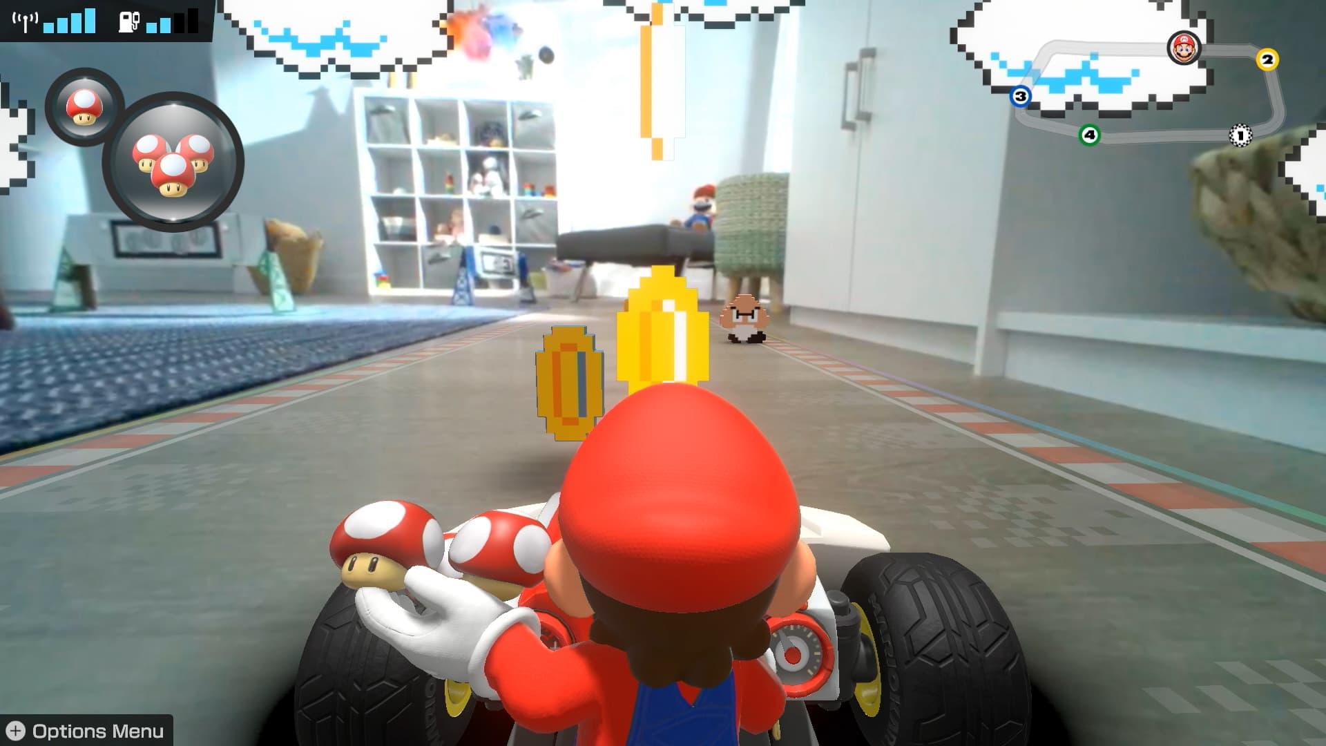 Mario Kart Live: Home Circuit - augmented reality fun