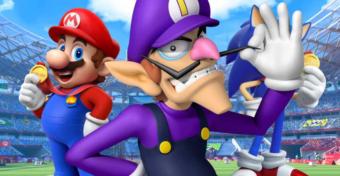 The top 5 best events in Mario & Sonic Tokyo 2020 featuring Waluigi