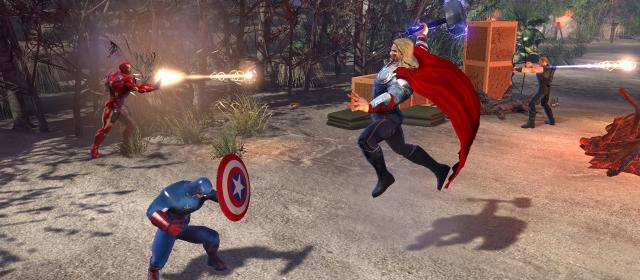 Marvel Heroes Featured