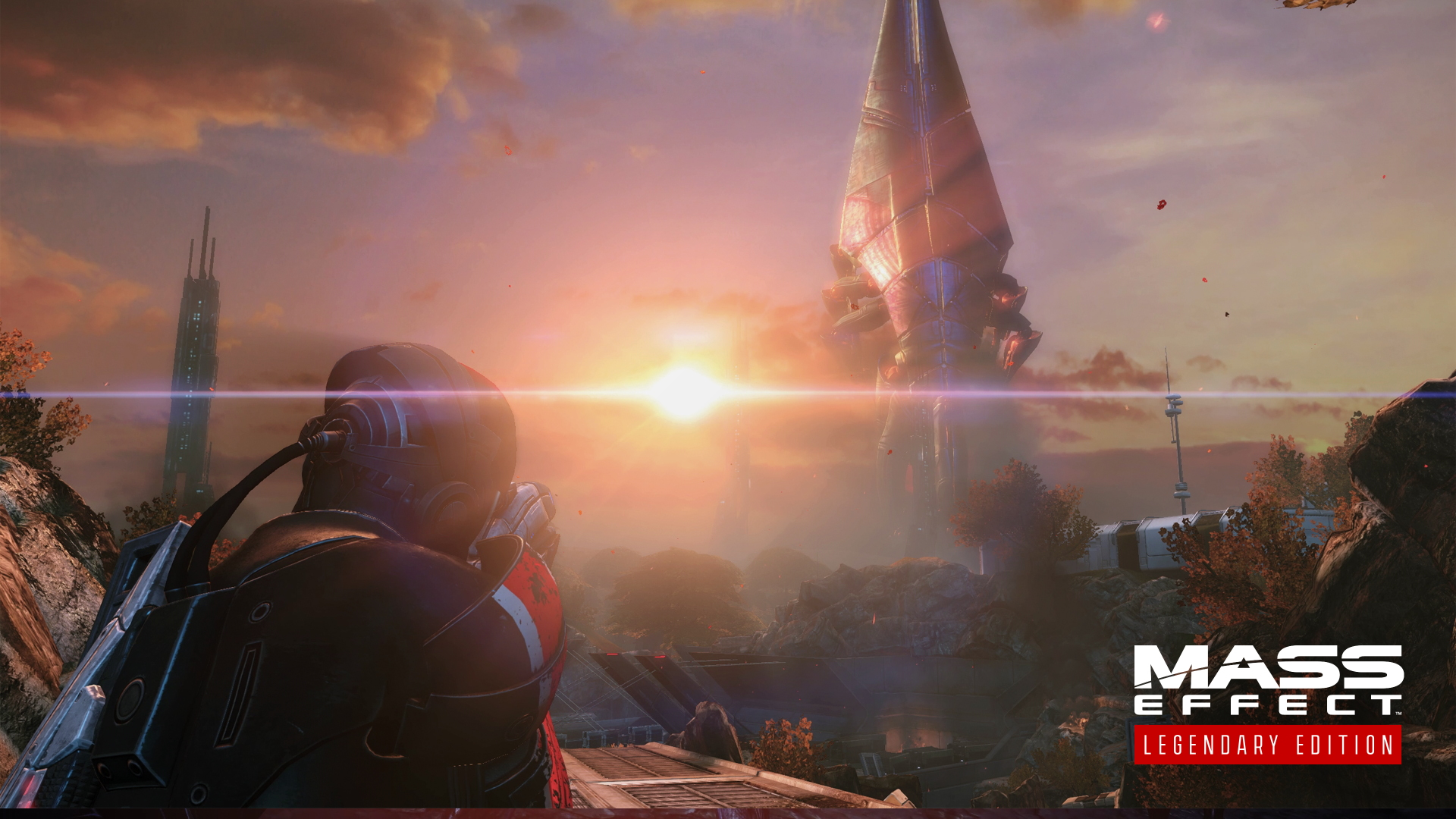 A screenshot from Mass Effect Legendary Edition - Eden Prime