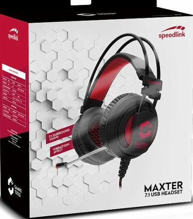 Speedlink Maxter 7.1 Surround Sound Gaming Headset