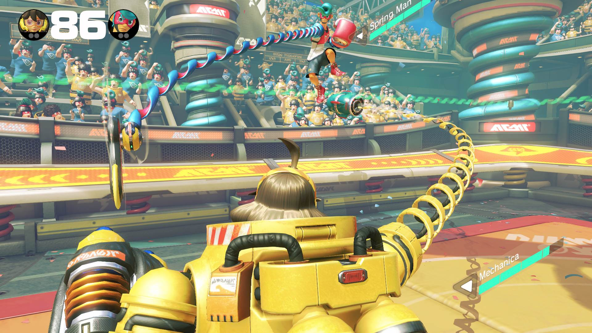 ARMS nintendo switch review