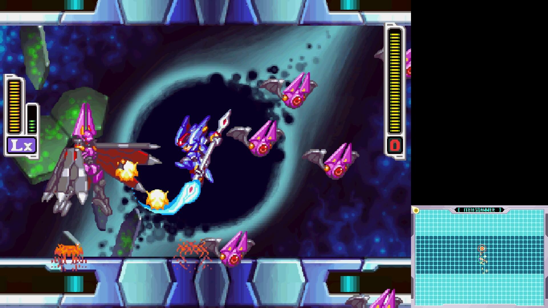 Megaman Zero ZX Legacy Collection screenshot