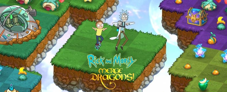 Merge Dragons Rick & Morty