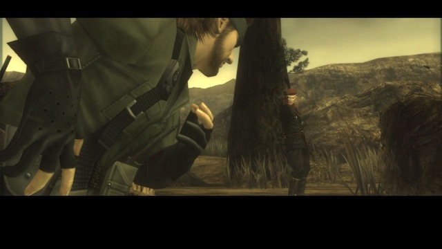 Metal Gear Solid HD Collection - Snake And Ocelot