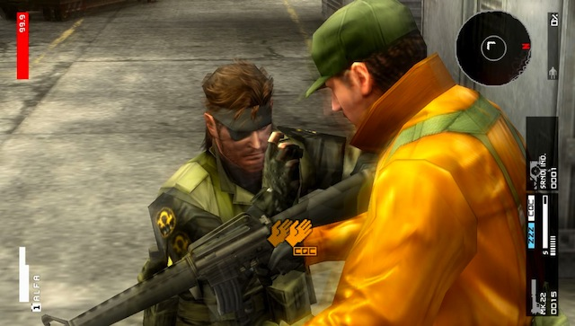 Metal Gear Solid HD Collection - Snake CQC