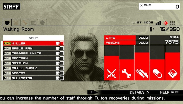 Metal Gear Solid HD Collection - Staff
