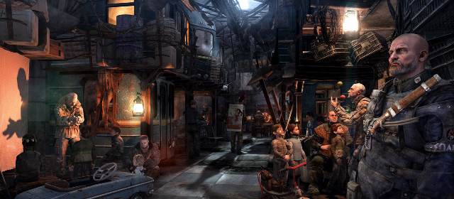 Metro: Last Light Launch Trailer Drops