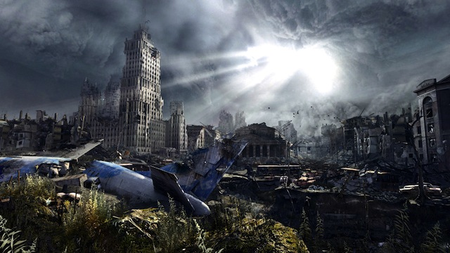 Metro: Last Light - Downed Plane