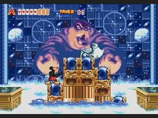 MEGADRIVE vs SUPER NINTENDO : Fight ! Mickey-Mouse-World-of-Illusion-U-082