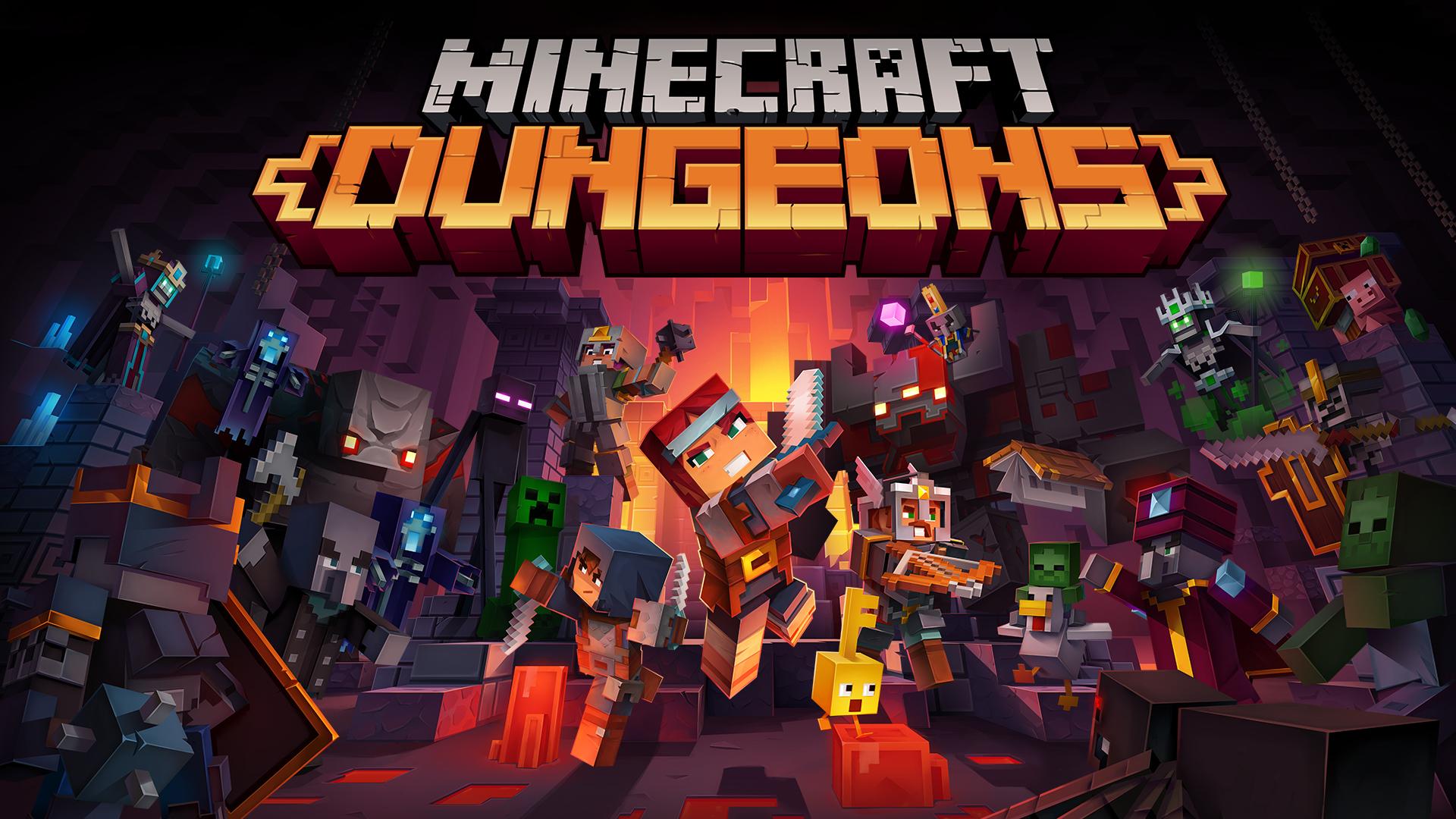 Minecraft Dungeons review  GodisaGeek.com