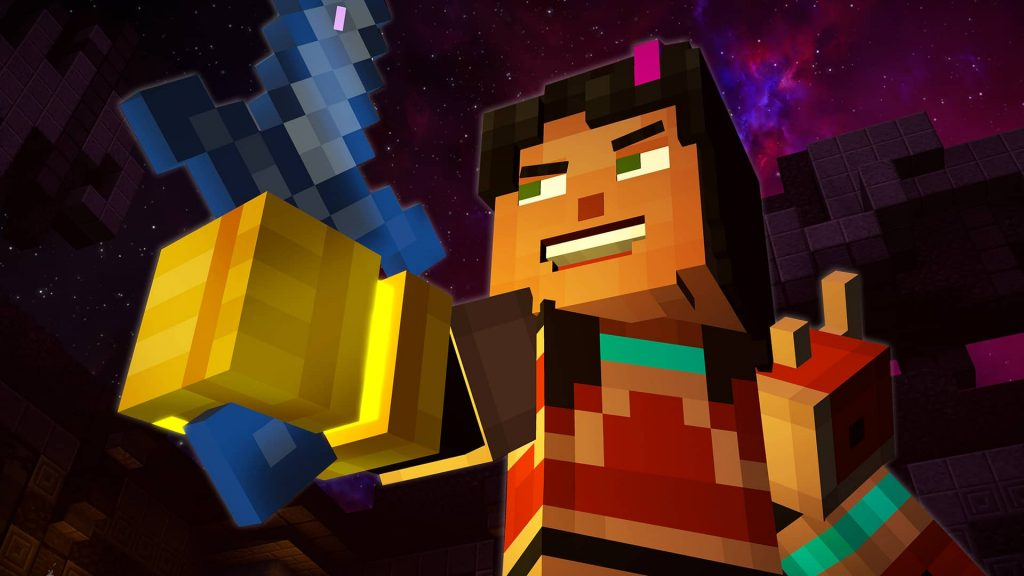 minecraft story mode season two � episode five above and