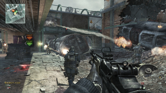Modern Warfare 3 - Gunplay Subway