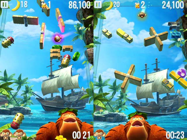 Monkey Slam - Screenshot