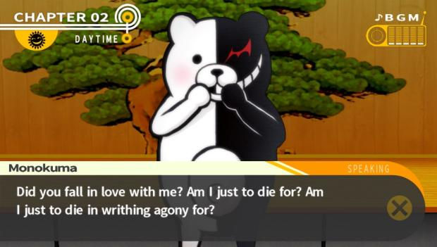 Monokuma dialogue