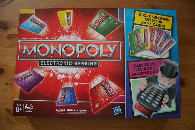 monopoly board game credit card