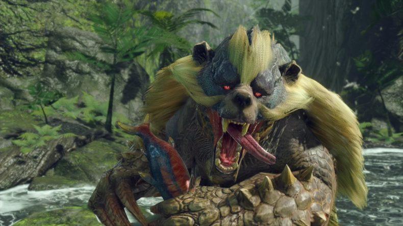 Monster Hunter Rise Arzuros