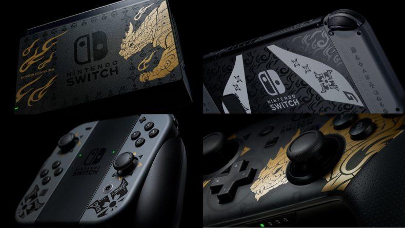 Monster hunter Rise Nintendo Switch Edition News