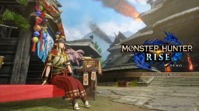 Monster Hunter Rise PC Demo