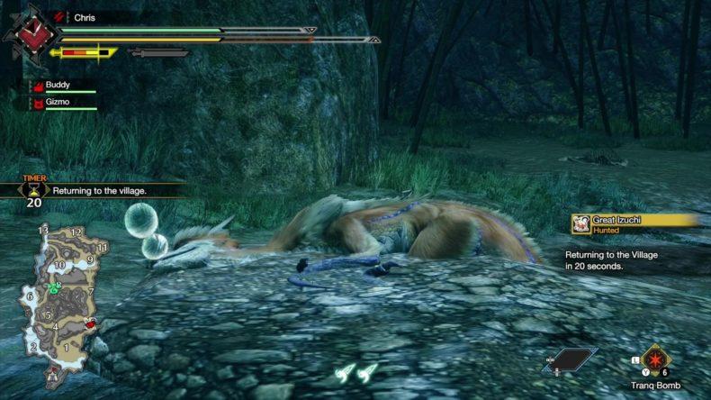 Monster Hunter Rise capture