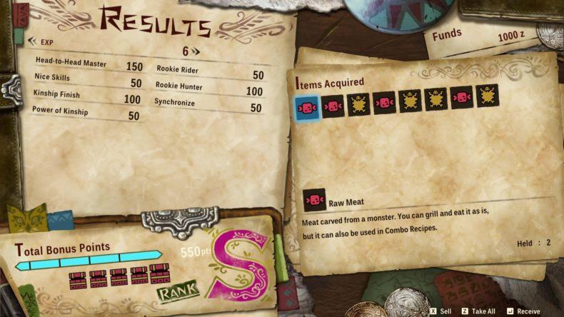 Monster Hunter Stories 2 S Rank