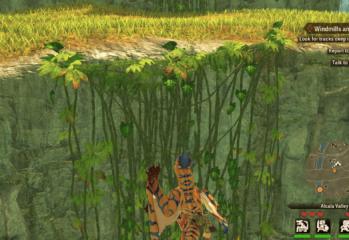 Monster Hunter Stories 2 climb vines