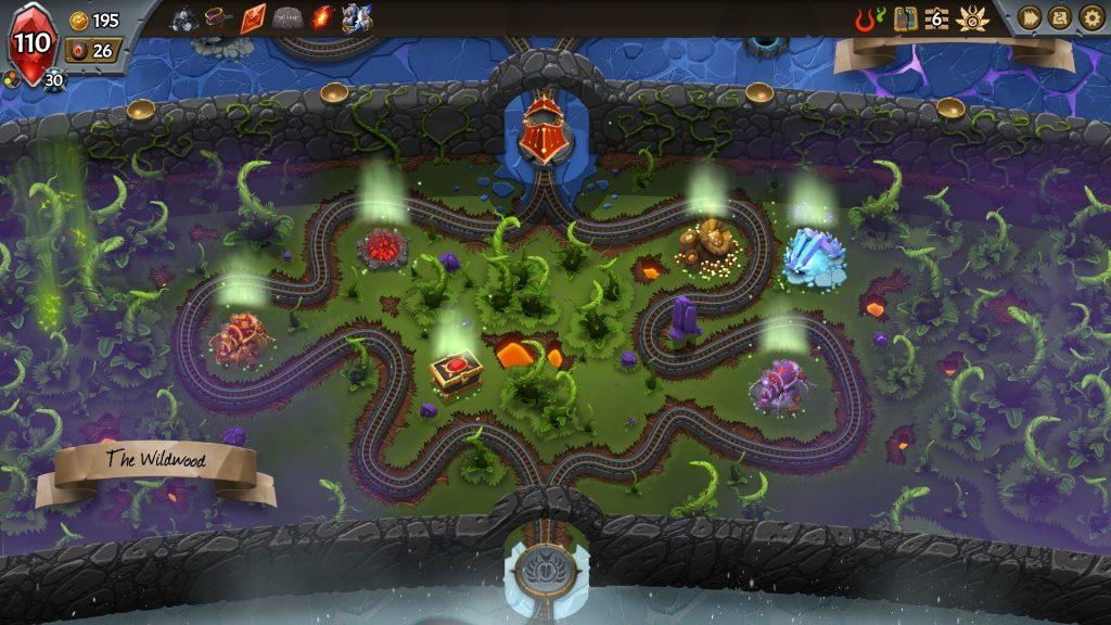 A screenshot from Monster Train