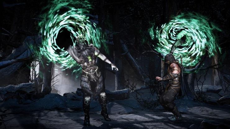 Mortal Kombat X QuanChi Scorpion