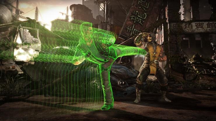 Mortal Kombat X preview - Cage vs Scorpion