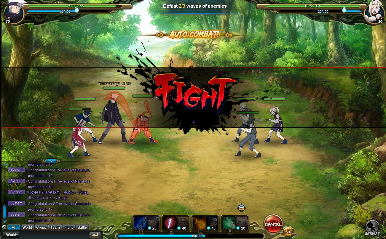 Naruto Online (MMORPG) available now for PC and Mac - GodisaGeek com