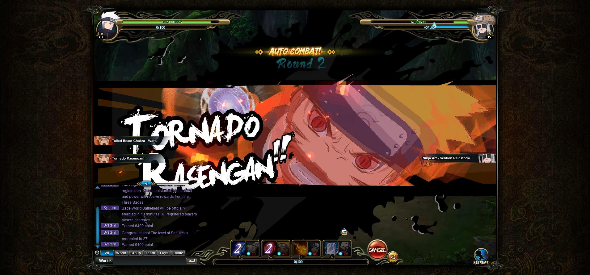 NARUTO ONLINE_Battle18 | God is a Geek: Video Game Reviews