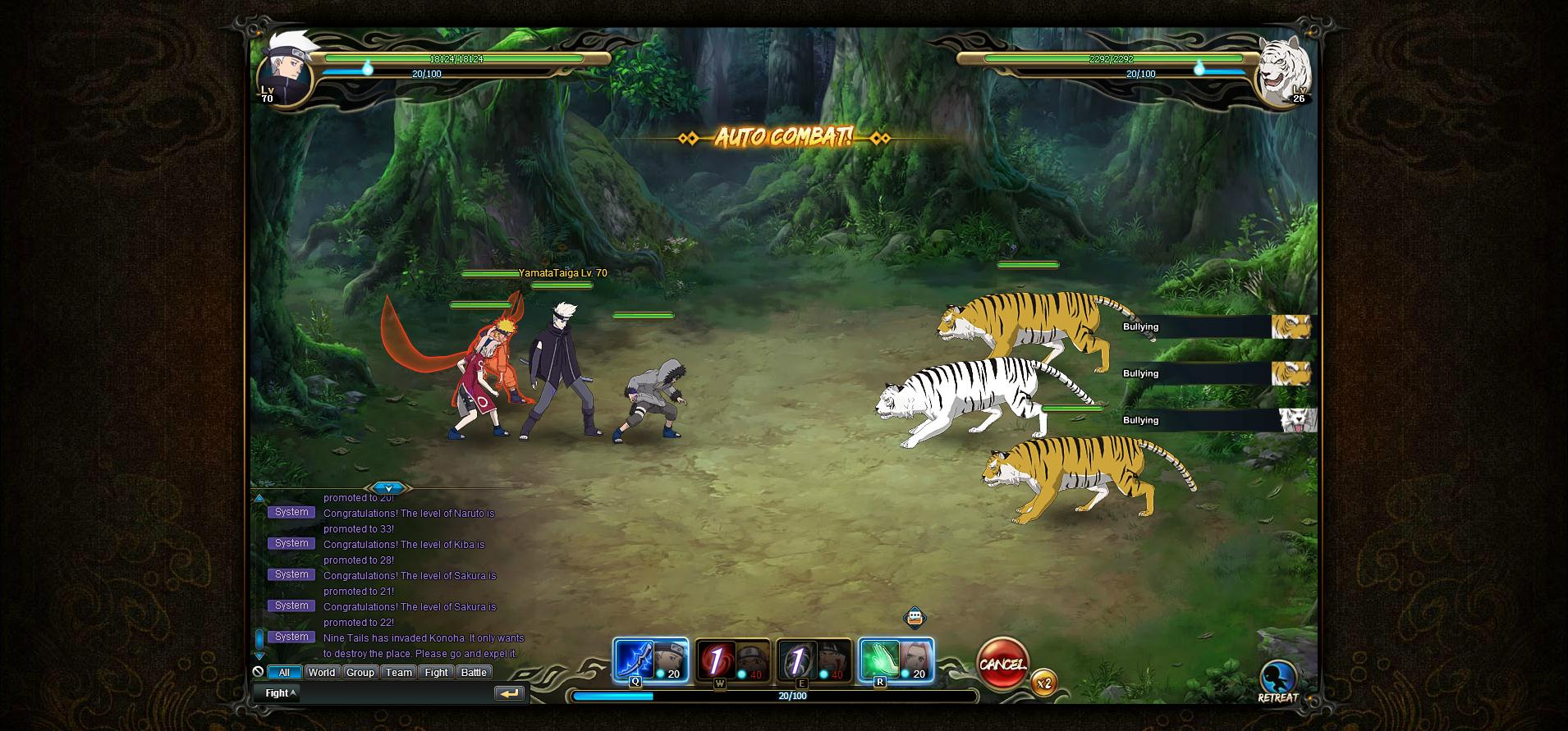 NARUTO ONLINE_Battle21   God is a Geek: Video Game Reviews
