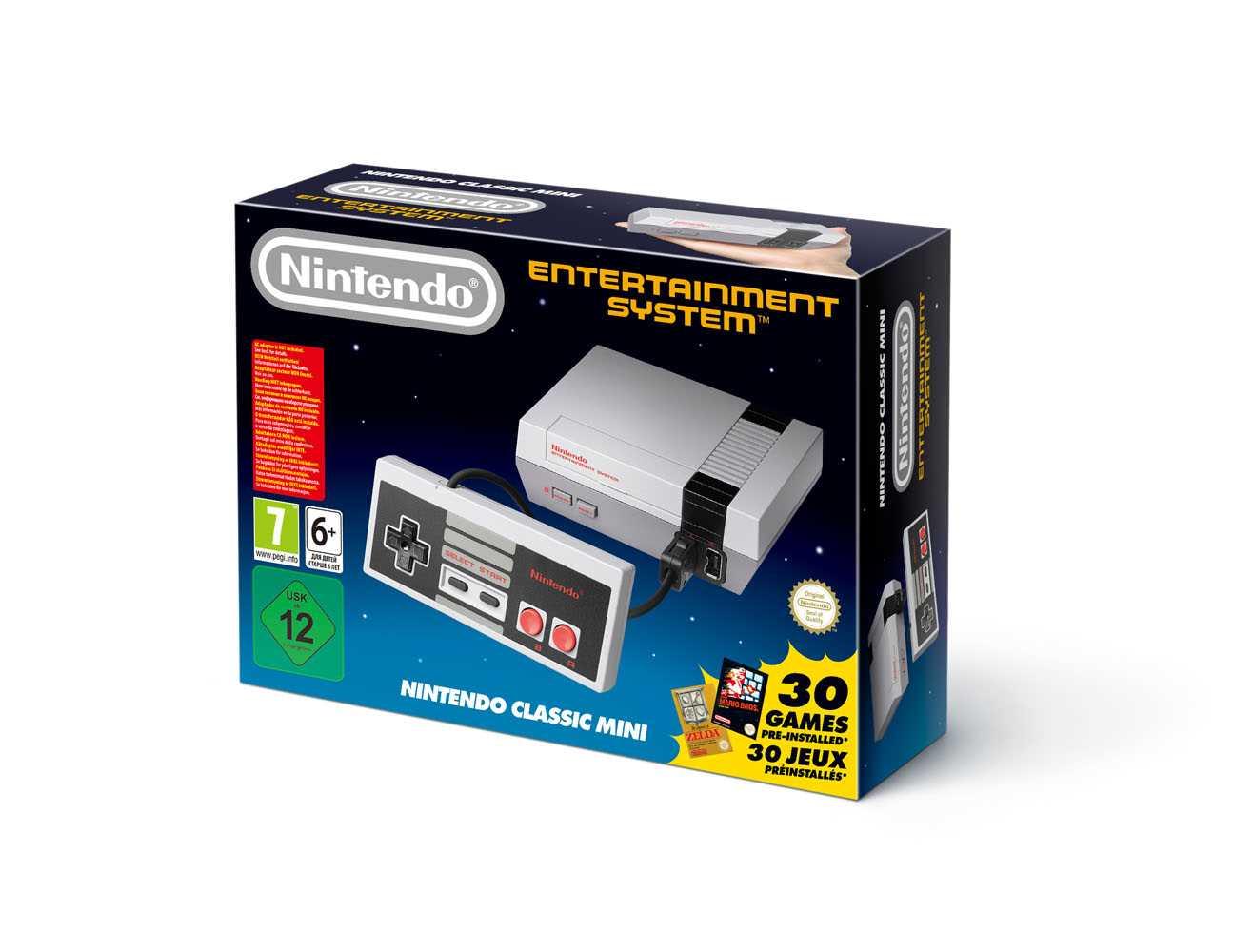 NES Classic Mini box
