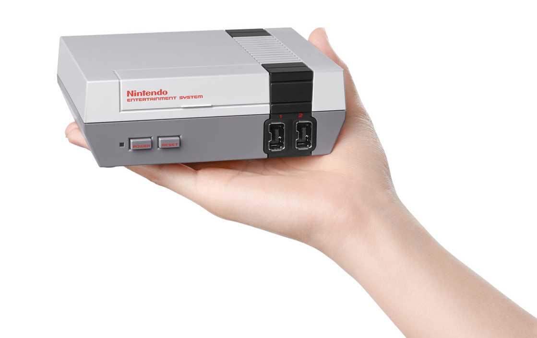 NES Classic Mini size