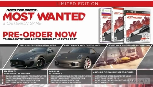 Need For Speed: Most Wanted Appears To Have Kinect Support