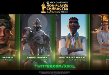 first ever Non-Player Character awards