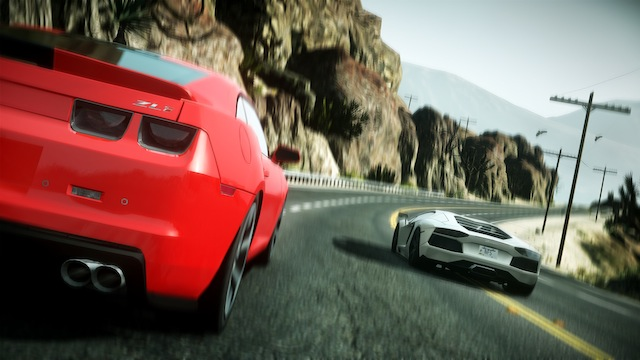 Need for Speed: The Run - Behind Mustang