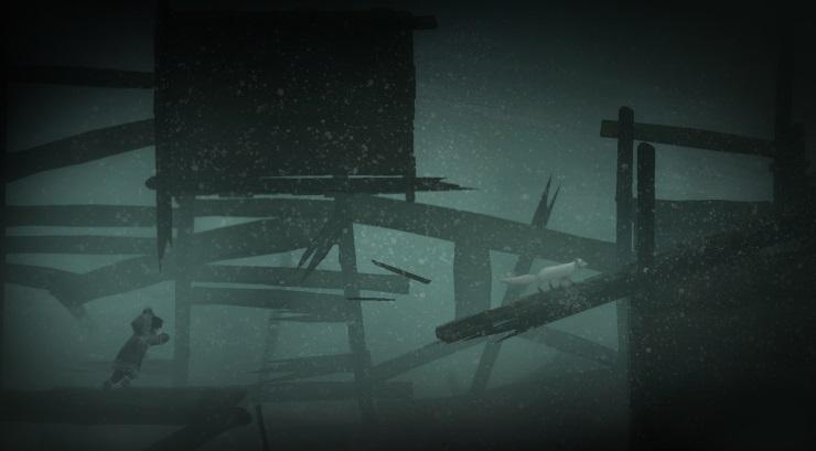 Never Alone Review - Coastal Village Blizzard
