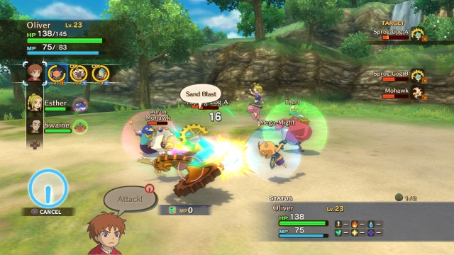Ni No Kuni - Battle
