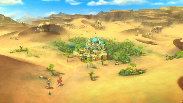Ni No Kuni - World Map (Desert Area)