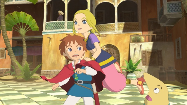 Ni No Kuni - Oliver, Drippy and Esther