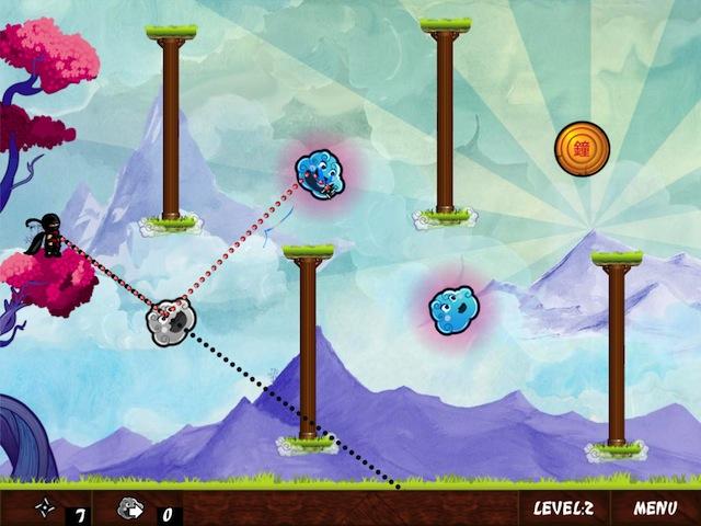Ninja Throw - Screenshot