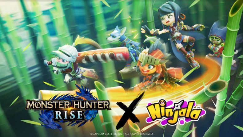Ninjala Monster Hunter Rise