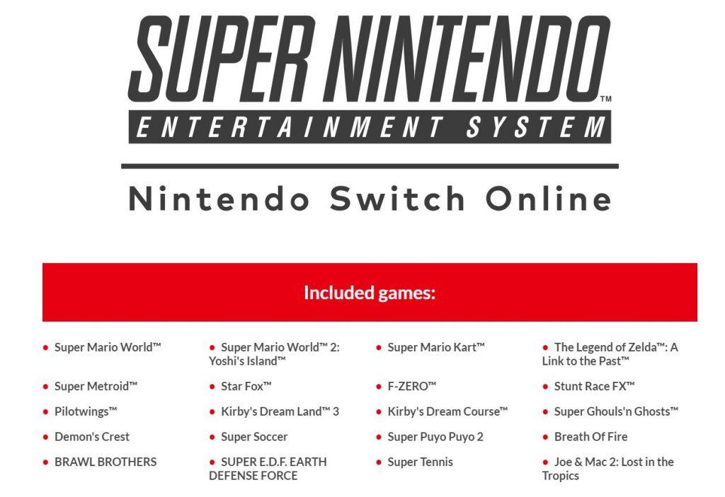 Snes Games Now Part Of Nintendo Switch Online Godisageek Com