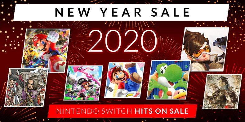 Nintendo eShop New Year Sale